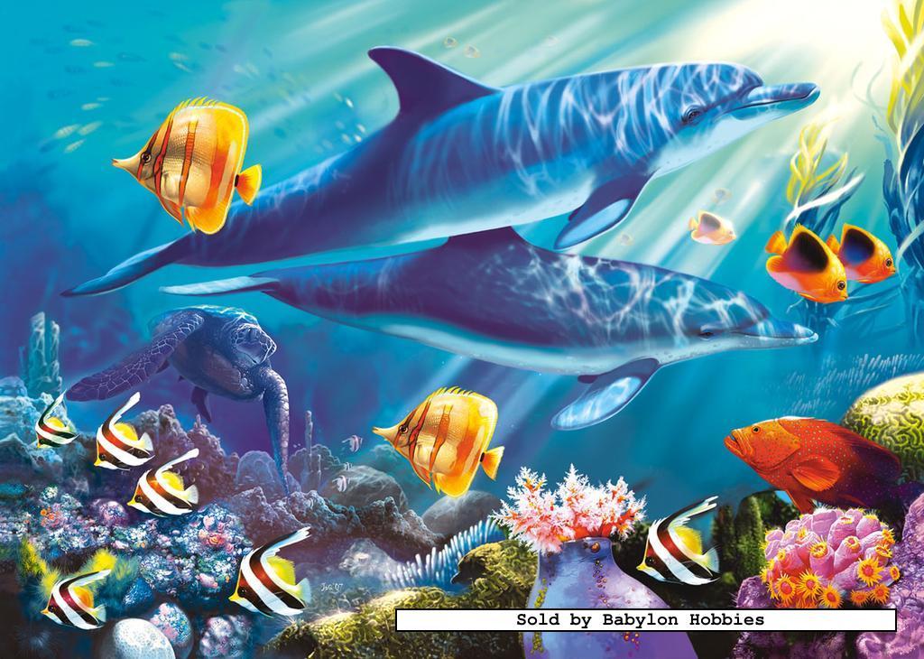 1500 St Puzzel Onderwaterwereld Vissen Zee Castorland