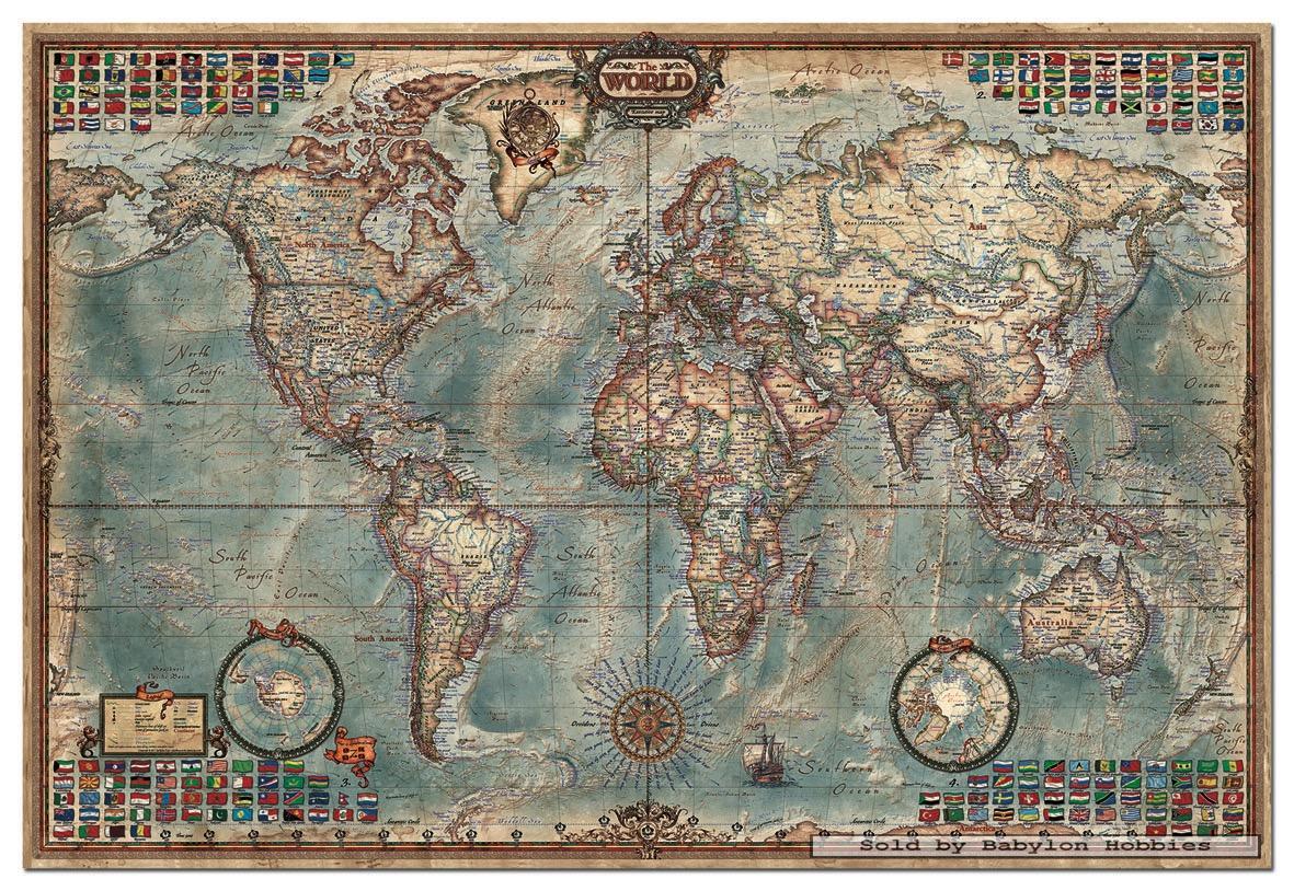 World map jigsaw 100 puzzles mulberry bush world map 200 pc jigsaw world map jigsaw puzzle gumiabroncs Gallery