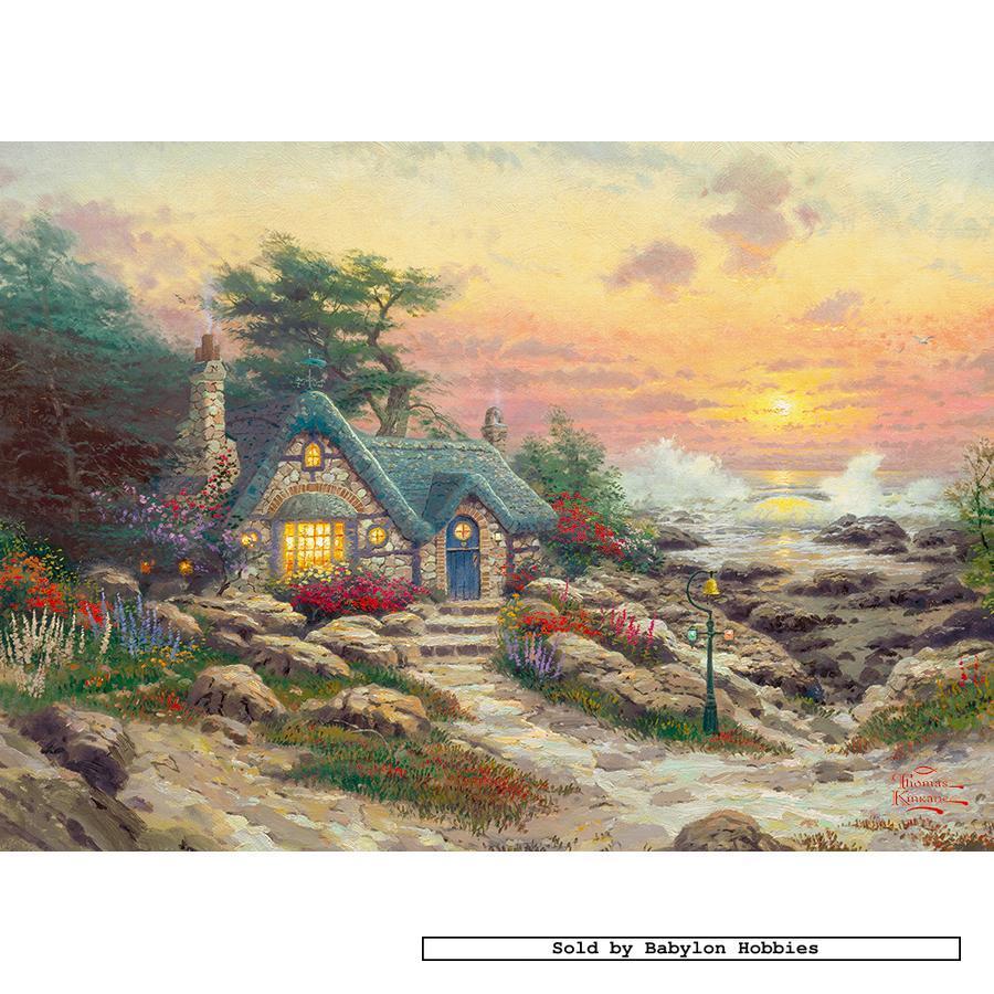 Jerusalem House Puzzle: 1000 Pcs Jigsaw Puzzle: Thomas Kinkade