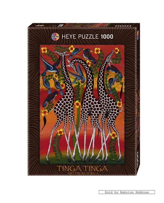 Jerusalem House Puzzle: 1000 Pcs Jigsaw Puzzle: Tinga Tinga