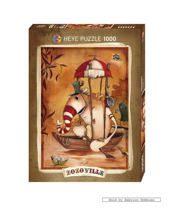 Jerusalem House Puzzle: 1000 Pcs Jigsaw Puzzle: Mateo Dineen