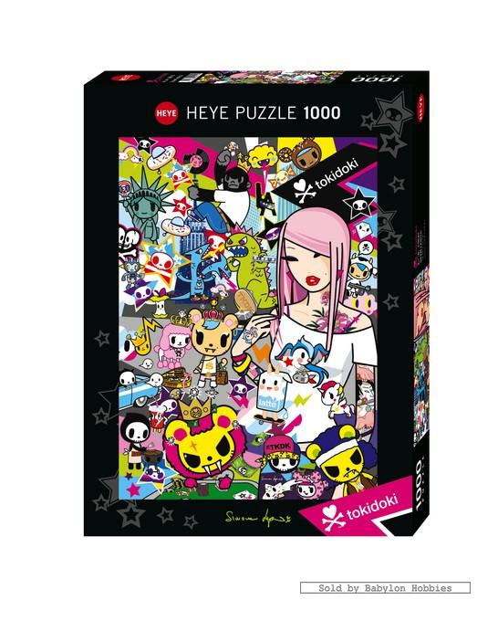 Jerusalem House Puzzle: 1000 Pcs Jigsaw Puzzle: Street Festival (Heye 29642)