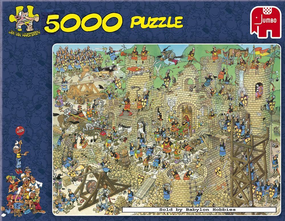 5000 pcs jigsaw puzzle jan van haasteren castle. Black Bedroom Furniture Sets. Home Design Ideas