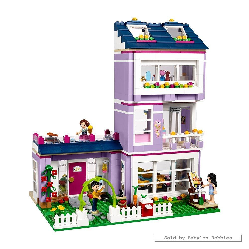 lego friends emma 39 s house by lego 41095. Black Bedroom Furniture Sets. Home Design Ideas