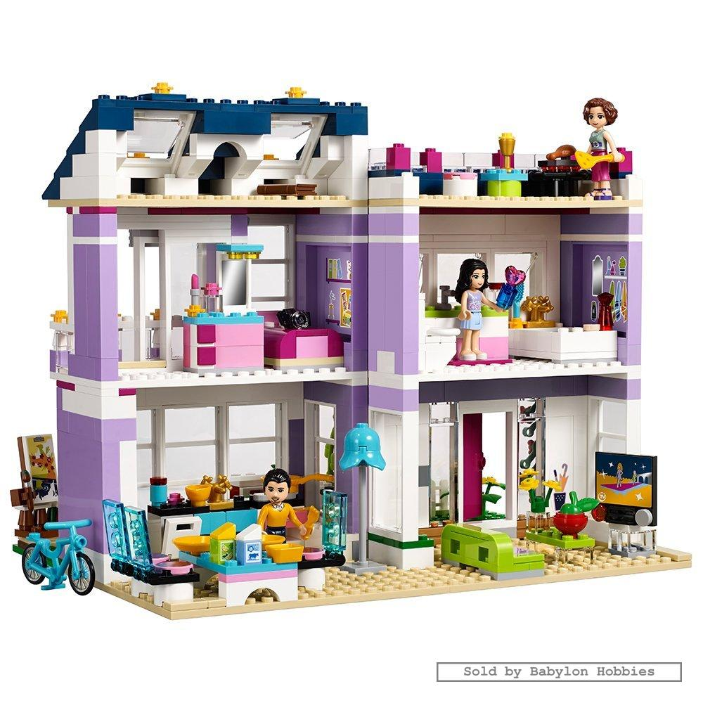 Lego friends emma 39 s house by lego 41095 ebay for Modele maison lego classic
