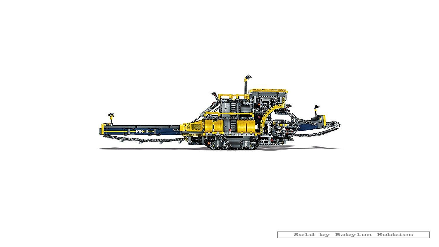 lego technic bucket wheel excavator by lego 42055 ebay. Black Bedroom Furniture Sets. Home Design Ideas