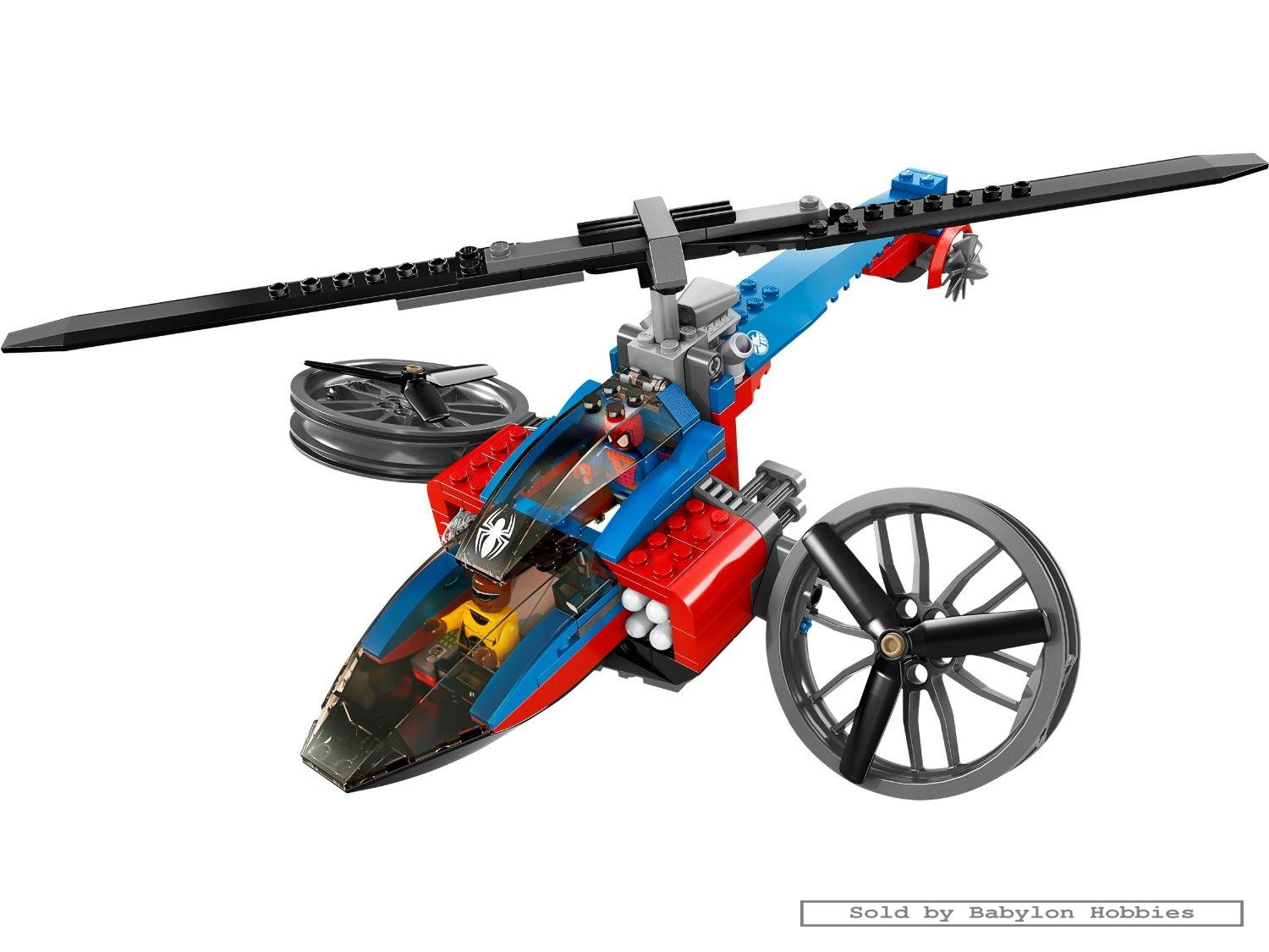 lego super heroes marvel spiderman spiderhelicopter