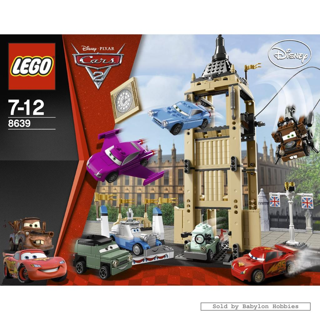 Lego Cars Big Bentley Bust Out By Lego 8639