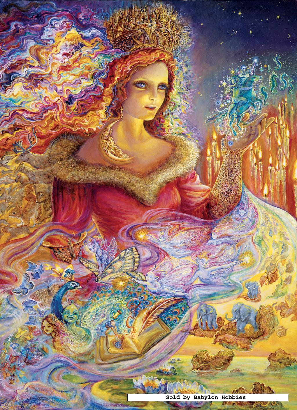 1000 Images About Tarot Art: Masterpieces Jigsaw Puzzle 1000 Pcs Josephine Wall Magi