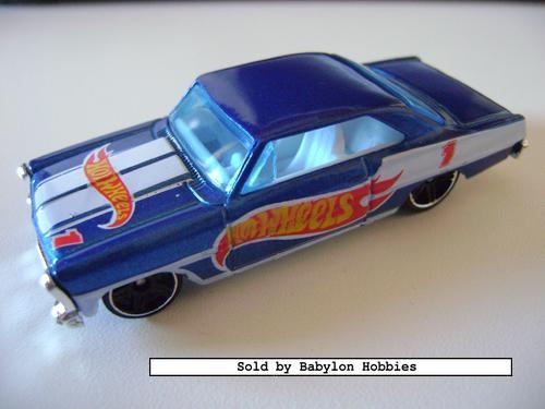 picture of Mattel Hot Wheels   1966 Chevy Nova (T9861)