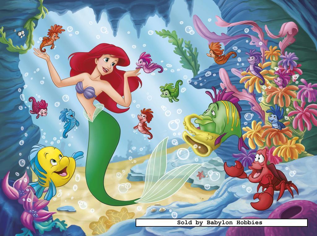Of 60 st legpuzzel disney princess ariel door nathan 865512