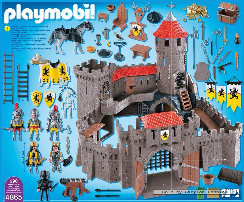 playmobil knights lion knights castle by playmobil 4865