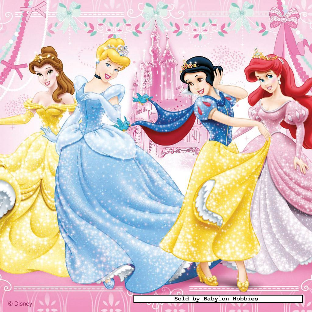 49 pcs jigsaw puzzle disney snow white ravensburger - Muebles de princesas disney ...