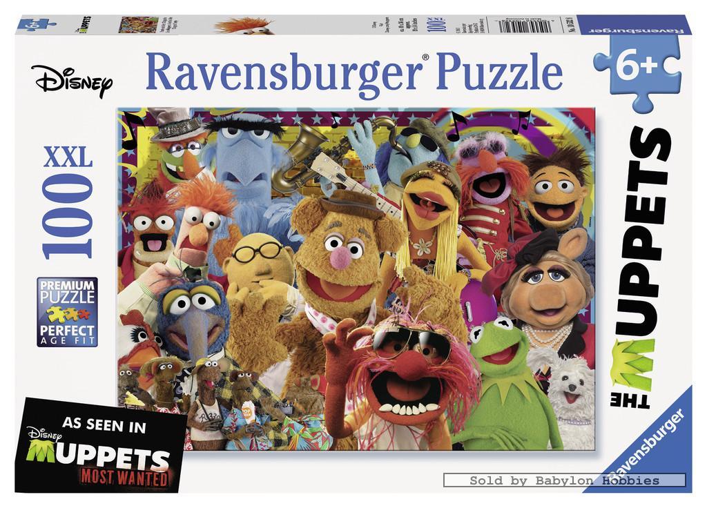 100 st puzzel xxl muppet party disney ravensburger for Kermit alla finestra