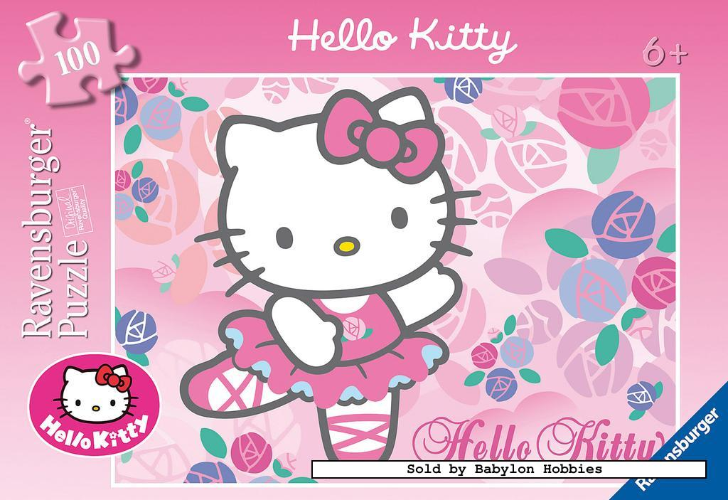 picture 1 of 100 st legpuzzel: Hello Kitty - Hello Kitty (door Ravensburger) 108947