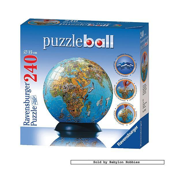 240 pcs jigsaw puzzle puzzleball illustrated world map. Black Bedroom Furniture Sets. Home Design Ideas