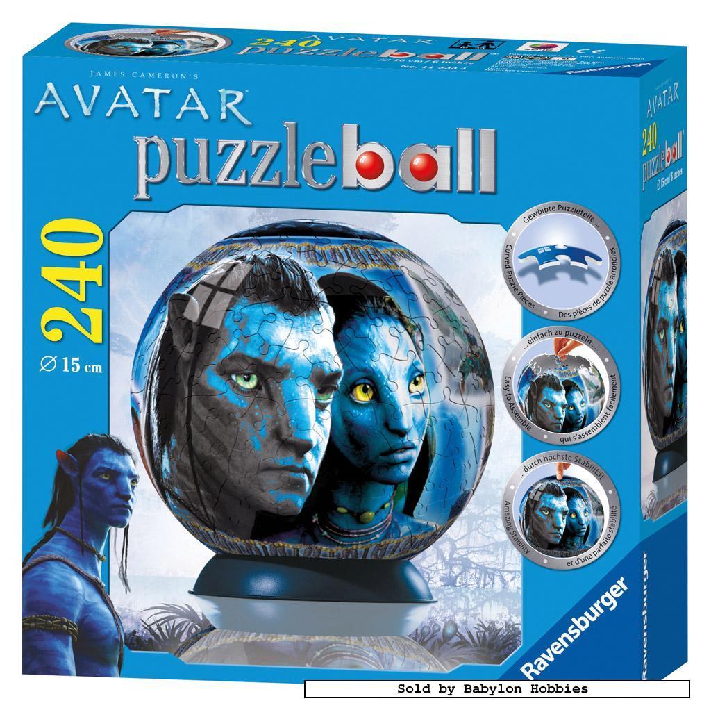 240 pcs jigsaw puzzle puzzleball avatar jake neytiri. Black Bedroom Furniture Sets. Home Design Ideas