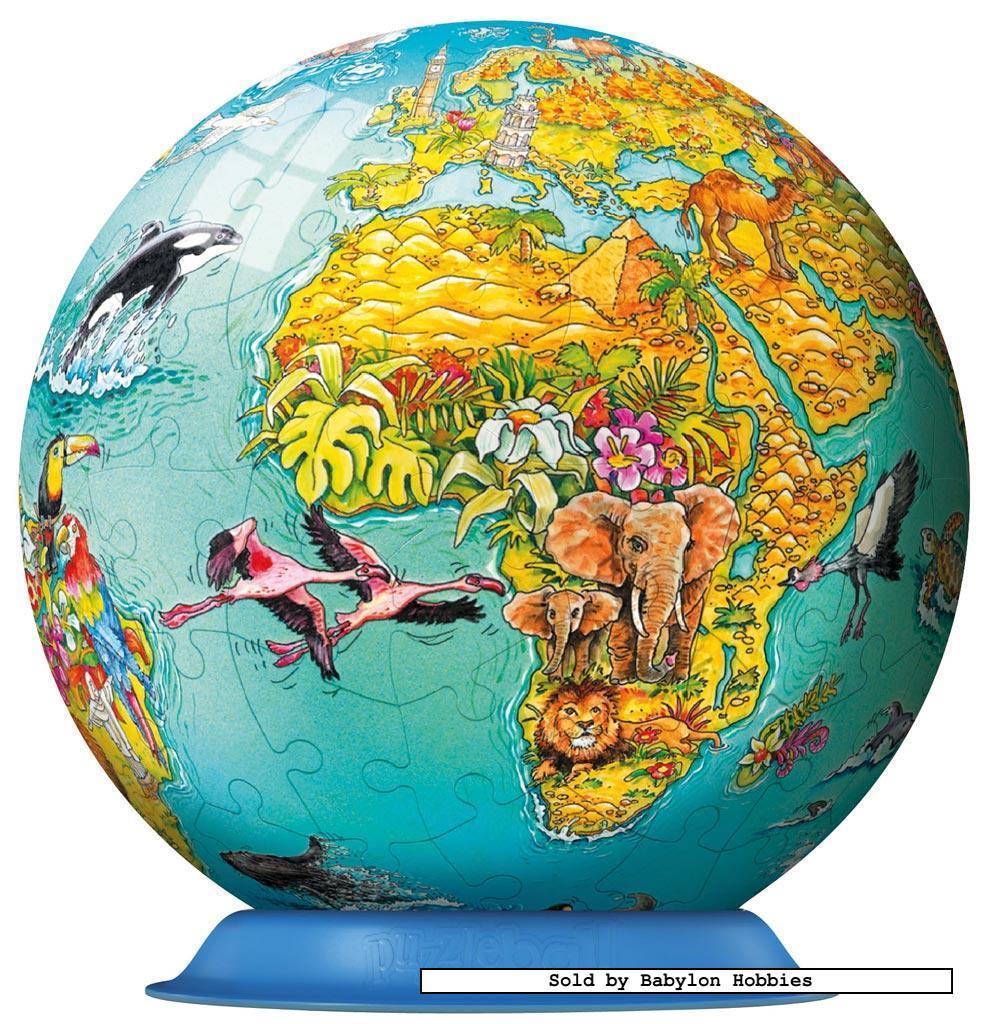 Legpuzzel puzzleball junior kinderaarde door ravensburger 122127