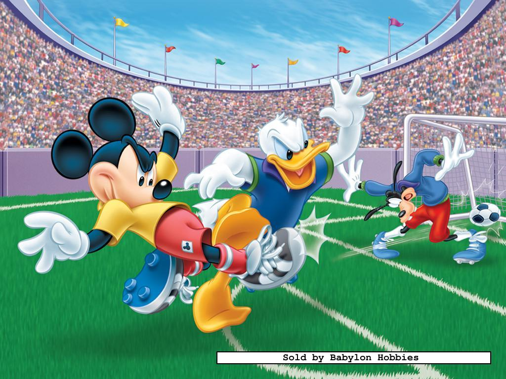 300 pieces jigsaw puzzle disney mickey and donald football 131259