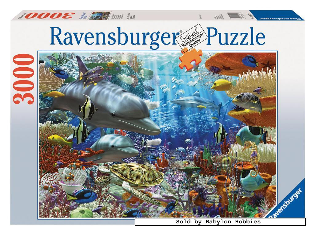 3000 pcs jigsaw puzzle oceanic wonders original. Black Bedroom Furniture Sets. Home Design Ideas