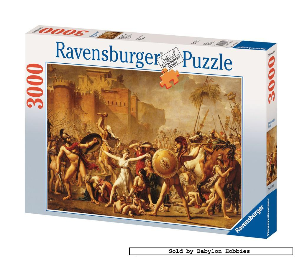 new ravensburger jigsaw puzzle 3000 pcs the sabine women 170319 ebay. Black Bedroom Furniture Sets. Home Design Ideas