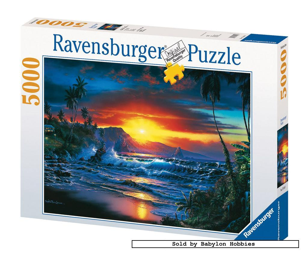 New ravensburger jigsaw puzzle 5000 pcs christian riese for Custom 5000 piece puzzle