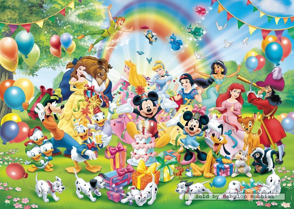 1000 Pcs Jigsaw Puzzle Disney Mickey S Birthday Ravensburger 190195 Ebay