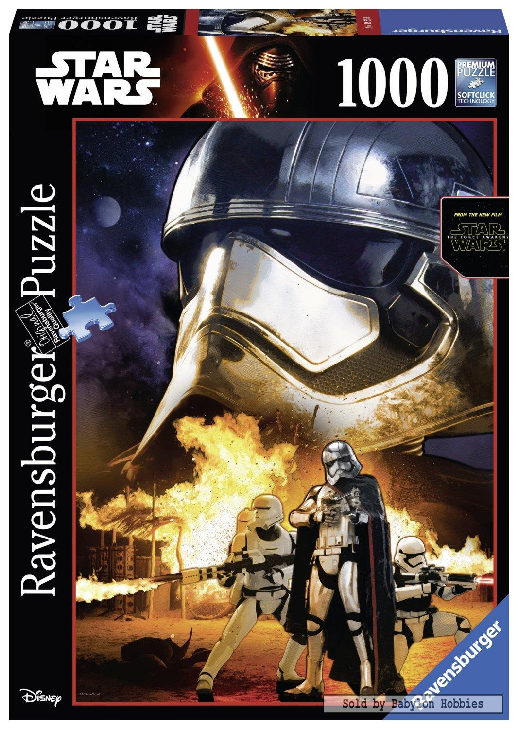 1000 pcs jigsaw puzzle star wars soldier of the galactic empire ebay. Black Bedroom Furniture Sets. Home Design Ideas