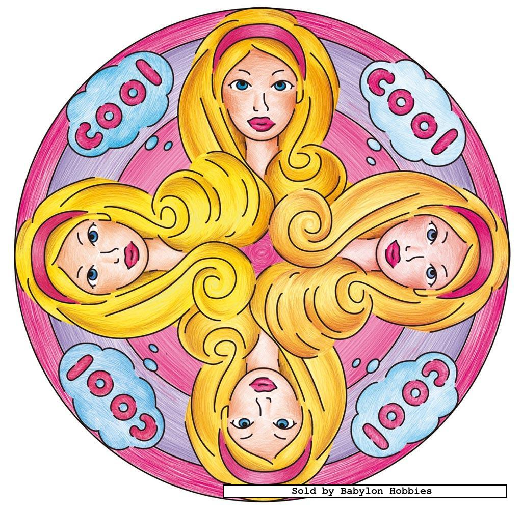 barbie mandala