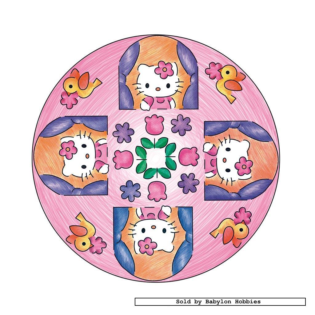 mandalas hello kitty