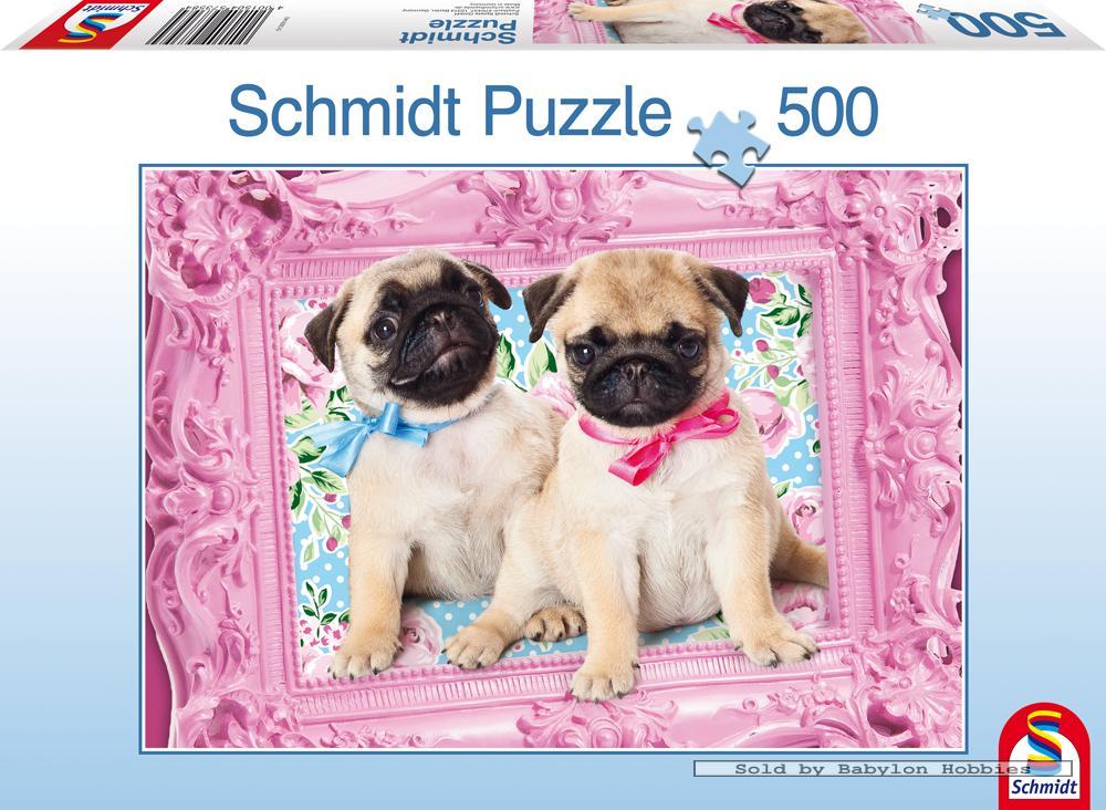 500 st puzzel mooie hondjes honden schmidt 57358 ebay - Schmidt verkoop ...