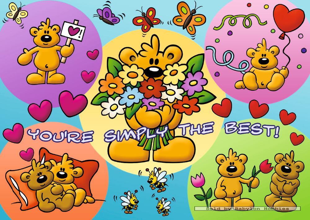 1000 pcs jigsaw puzzle die schnuffelbären you 39 re simply