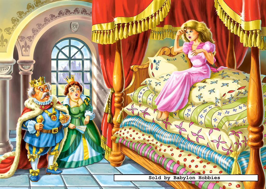 60 st puzzel: prinses op de erwt (sprookjes) (castorland 06380) | ebay