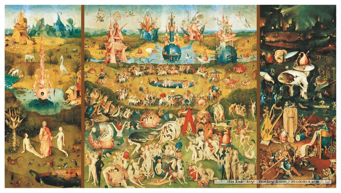 9000 pcs jigsaw puzzle: Bosch - The Garden of Earthly Delights (Art ...