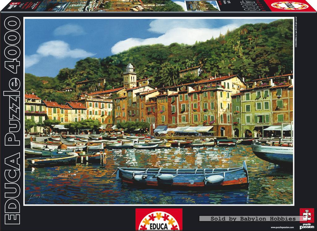 4000 pcs jigsaw puzzle portofino educa 15170 ebay. Black Bedroom Furniture Sets. Home Design Ideas