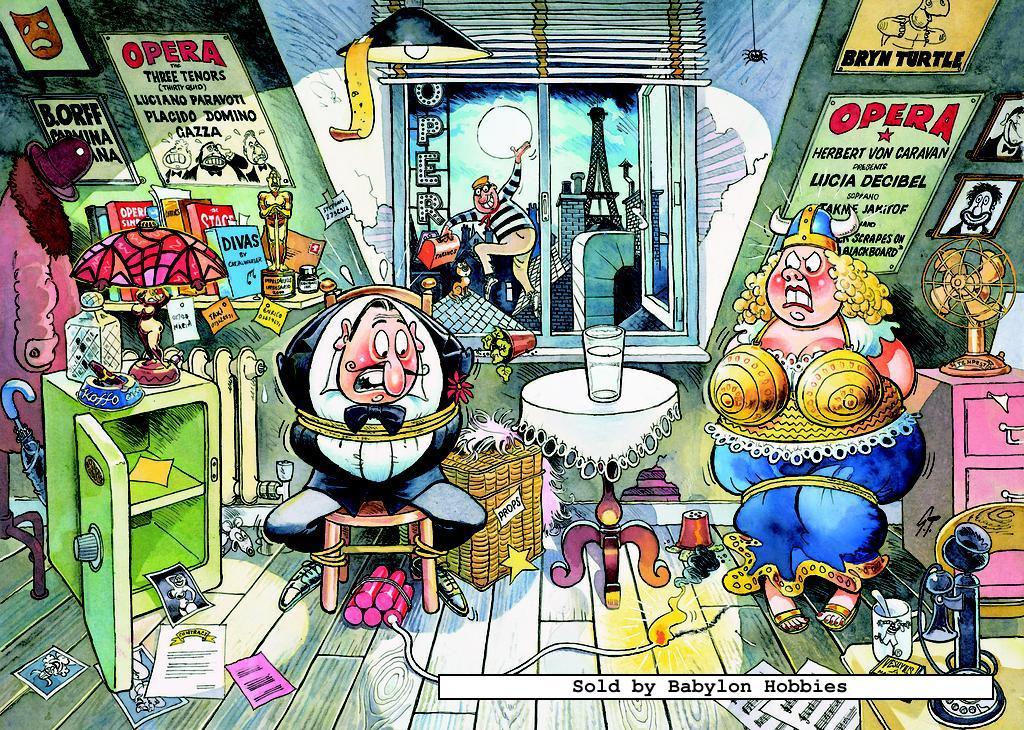 1000 pcs jigsaw puzzle: Graham Thompson - Wasgij Mystery 3 - Drama ...