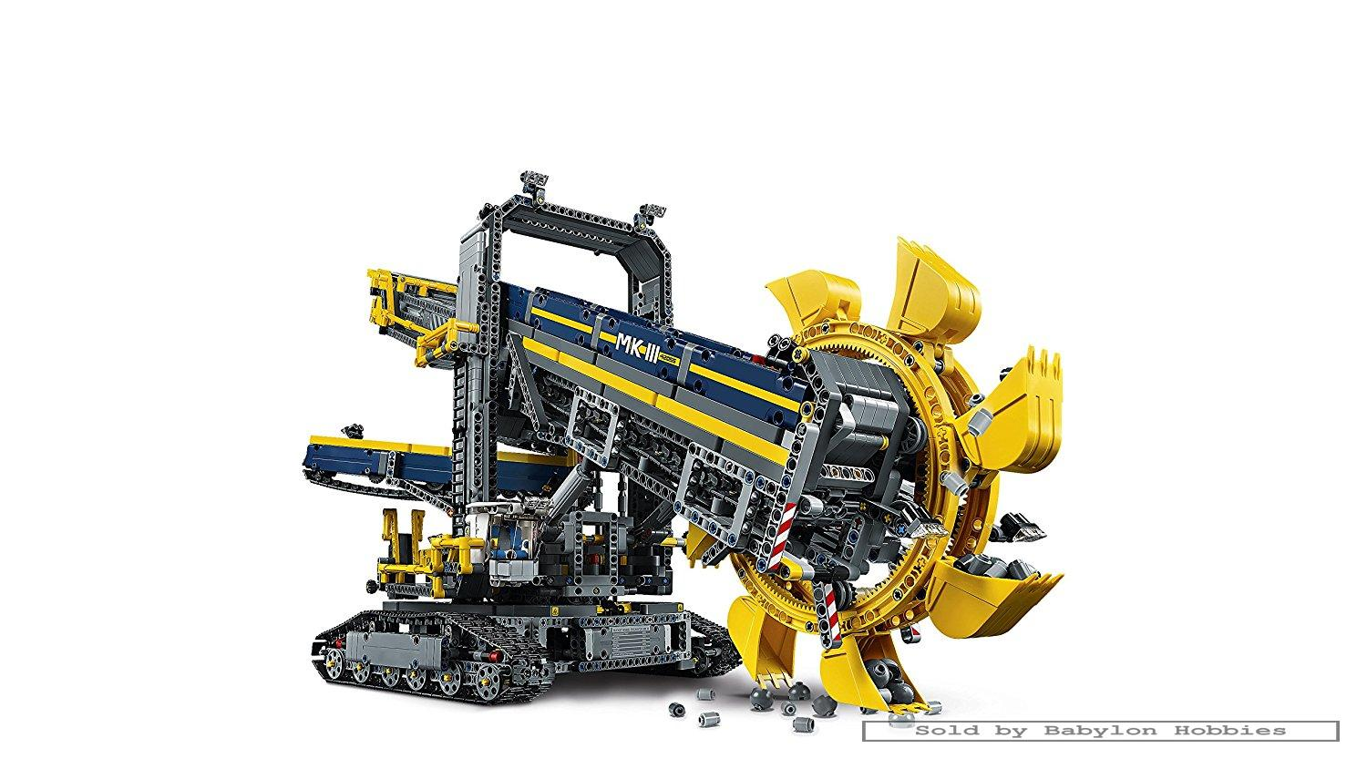 lego technic bucket wheel excavator by lego 42055. Black Bedroom Furniture Sets. Home Design Ideas