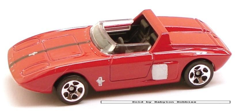 Hot Wheels 1962 Ford Mustang Concept by Mattel R0947