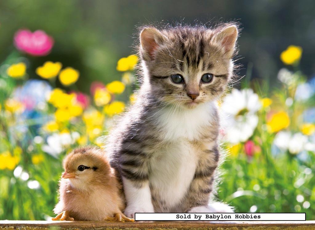 300 Pcs Jigsaw Puzzle Cute Friends Cats Animals