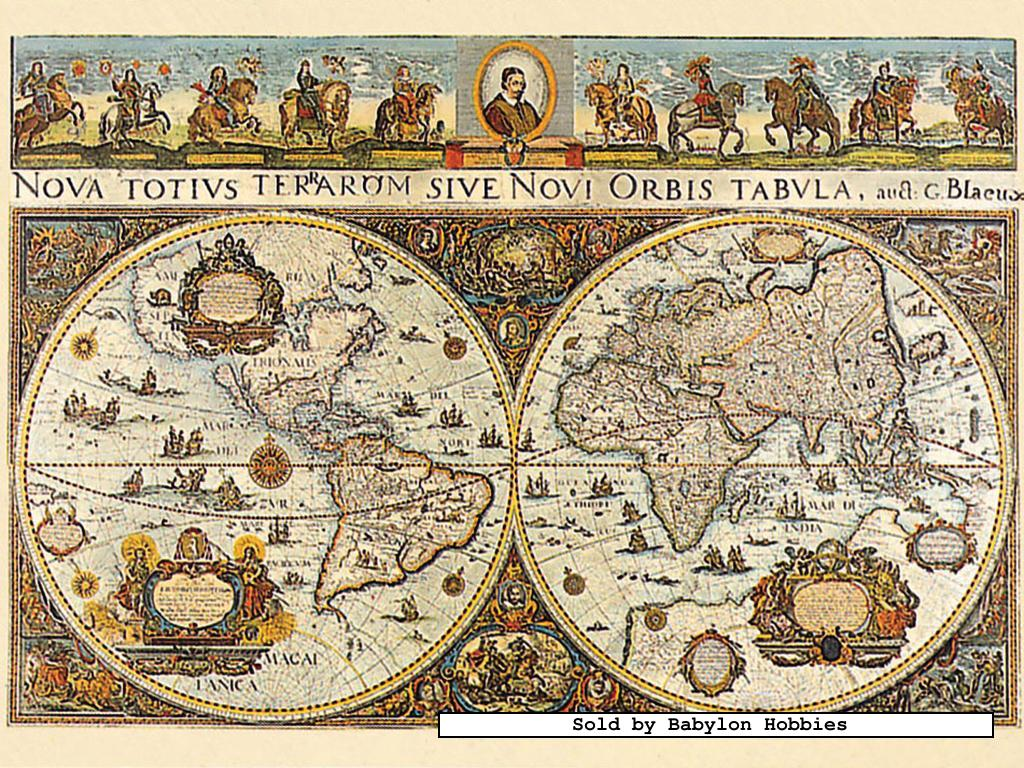 3000 pcs jigsaw puzzle world map 1665 original maps picture 1 of 3000 pieces jigsaw puzzle world map 1665 by ravensburger gumiabroncs Images