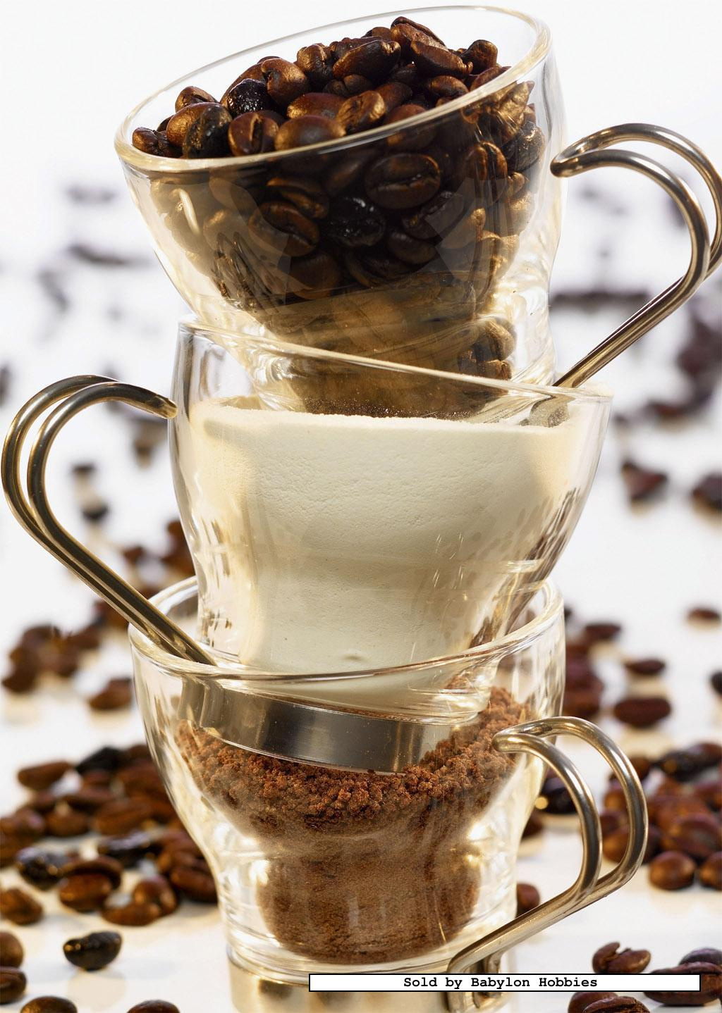 1000 pcs jigsaw puzzle: Wood Finish - Coffee Milk and sugar (Food) 4005556190034 | eBay